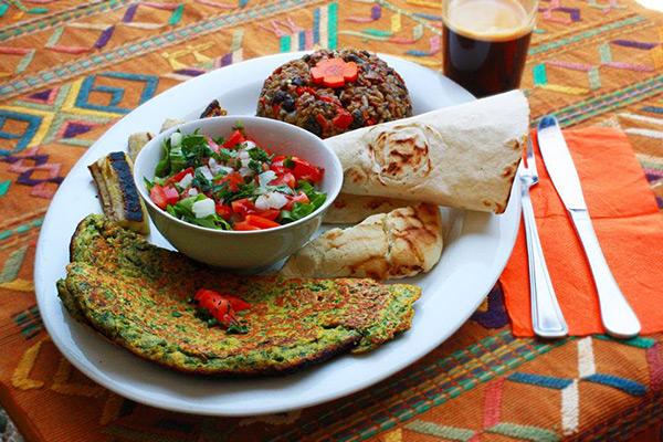 ארוחת בוקר טבעונית - טבע האוכל מסעדה מומלצת
