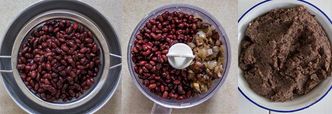 הכנת כריכים בריאים - ממרח שעועית אדומה אלונה להב