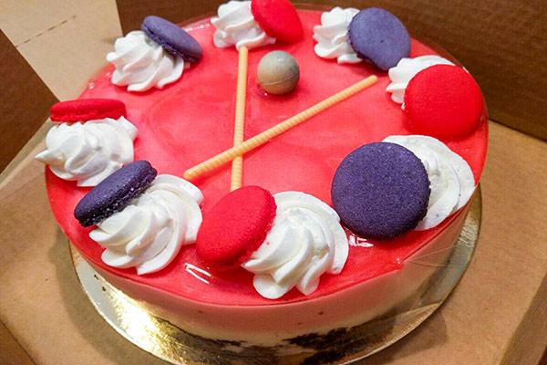 עוגת תות טבעונית בהופמן האופה