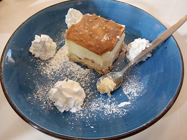 עוגת לוטוס טבעונית