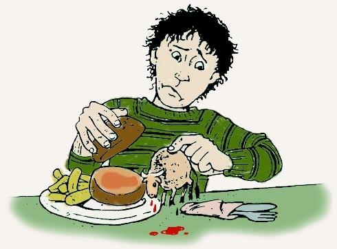 אמאבא, מהיום אנ'לא אוכלת בשר!