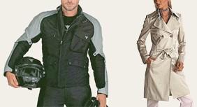 מעיל גשם קלאסי מניילון ומעיל אופנוענים מקורדורה